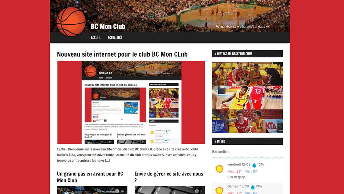 25c93181604e Nouveau site internet pour le club Basket Club Hamois | Basket Club ...