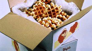Début de la vente des boites de gaufres vanille( 5€ ) ou chocolat (6€) au profit du club
