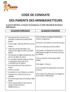 Code des parents