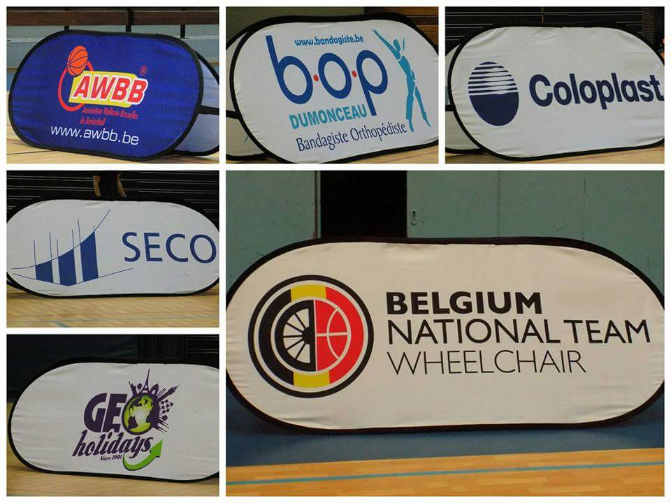 Sponsors of Wheelchair Belgium Lions
